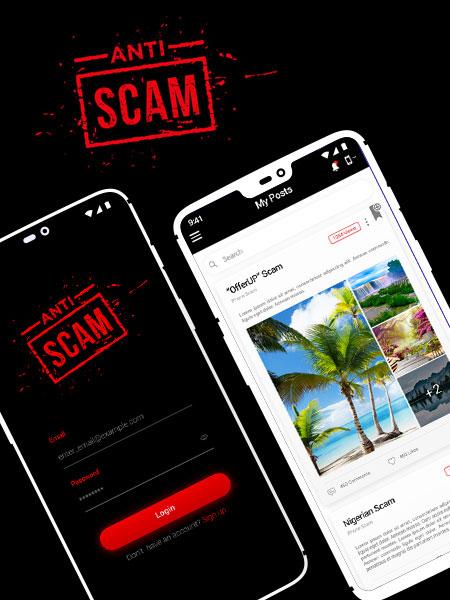 anti scam ios app development