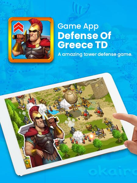 defense of greece td game app development