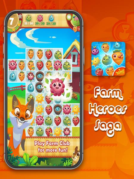 farm heroes saga game app development